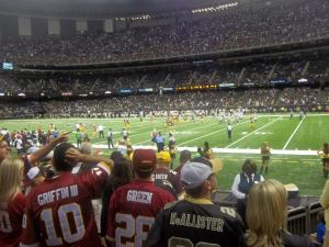 Saints vs. Redskins Game
