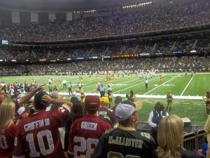 Saints vs. Redskins Game