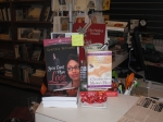 My book near the register!