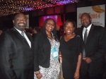 My and my hubby at the RITAs with Alicia McCalla and her hubby!