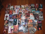 Came home with 48 print books and five or six digital books! What was I thinking?