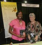 At the SC Book Festival  in May with the lovely, Linda Lovely.