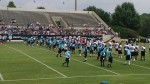 Lot's of inspiration at the Carolina Panthers Training Camp ;)